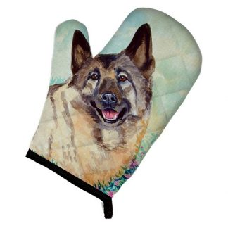 Norwegian Elkhound Oven Mitt