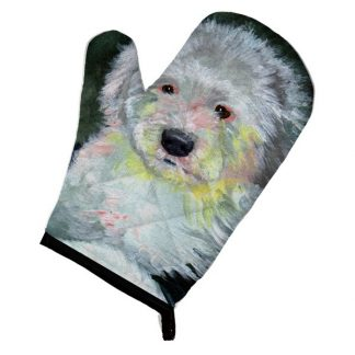 Old English Sheepdog Oven Mitt