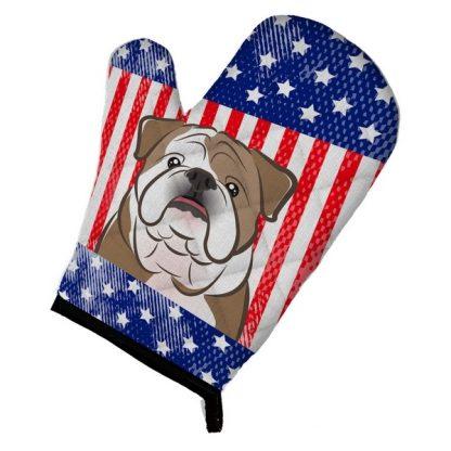 Bulldog Oven Mitt