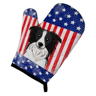 Border Collie Oven Mitt