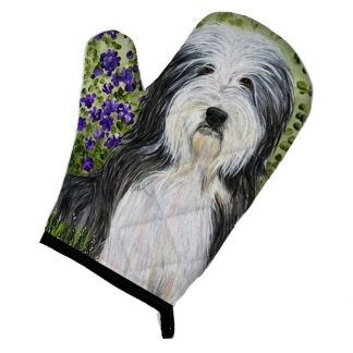 Bearded Collie Oven Mitt