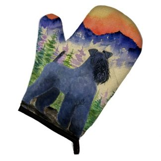 Kerry Blue Terrier Oven Mitt