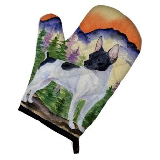 Rat Terrier Oven Mitt