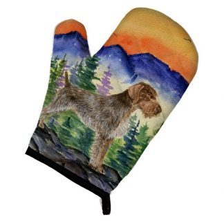 German Wirehair Pointer Oven Mitt
