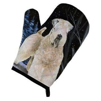 Soft Coated Wheaten Oven Mitt