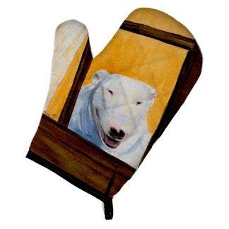 Bull Terrier Oven Mitt