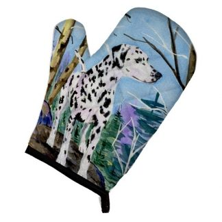 Dalmatian Oven Mitt