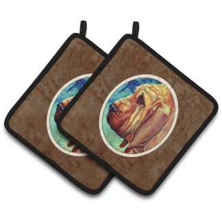 Bloodhound Pot Holders (Pair)