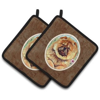 Chow Chow Pot Holders (Pair)