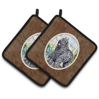 Bouvier Pot Holders (Pair)