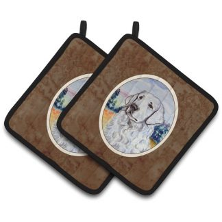 Kuvasz Pot Holders (Pair)