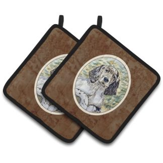 English Setter Pot Holders (Pair)