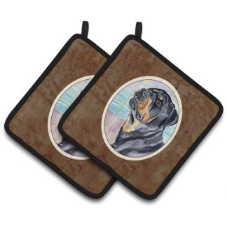 Rottweiler Pot Holders (Pair)