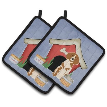 Brittany Pot Holders - House (Pair)