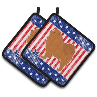 Chow Chow Pot Holders - USA (Pair)