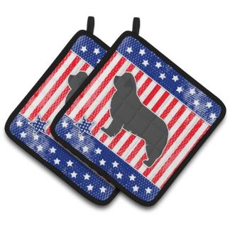 Newfoundland Pot Holders - USA (Pair)