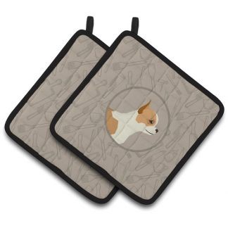 Chihuahua Pot Holders - Classy Kitchen (Pair)