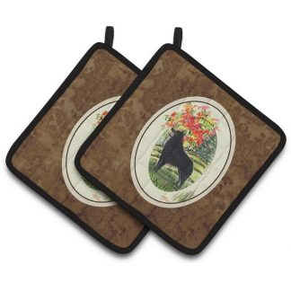 Schipperke Pot Holders (Pair)