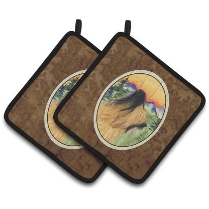Briard Pot Holders (Pair)