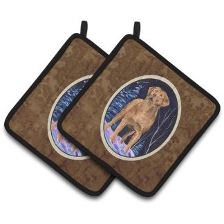 Chesapeake Bay Retriever Pot Holders (Pair)