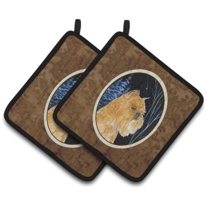 Brussels Griffon Pot Holders (Pair)