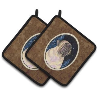 Mastiff Pot Holders (Pair)