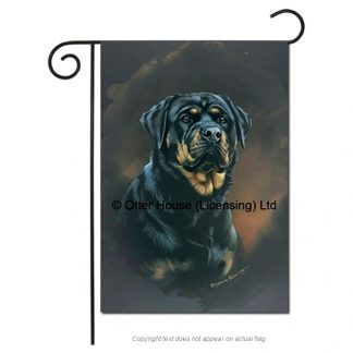 Rottweiler Flag - Pickering (Garden)