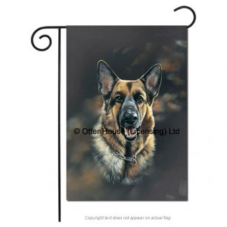 German Shepherd Flag - Pickering (Garden)
