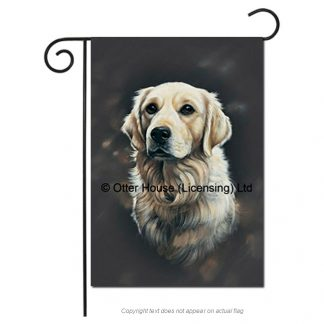 Golden Retriever Flag - Pickering (Garden)