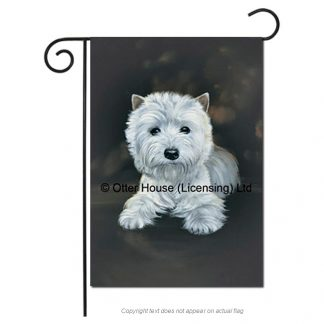 West Highland Terrier Flag - Pickering (Garden)