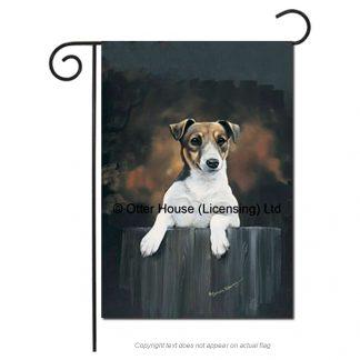 Jack Russell Terrier Flag - Pickering (Garden)