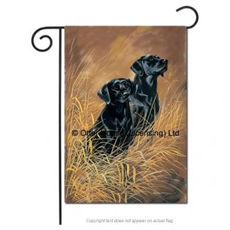 Black Lab Flag - Pickering II (Garden)
