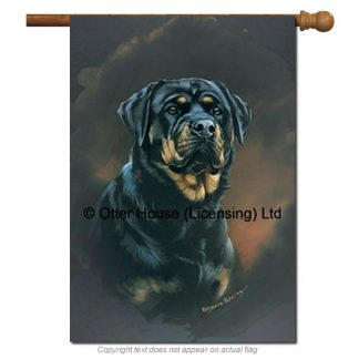 Rottweiler Flag - Pickering (Large)