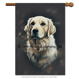 Golden Retriever Flag - Pickering (Large)