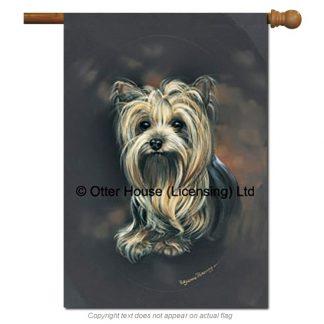 Yorkshire Terrier Flag - Pickering (Large)