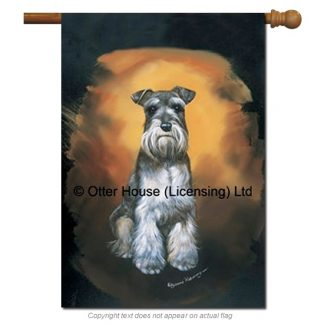 Schnauzer Flag - Pickering (Large)