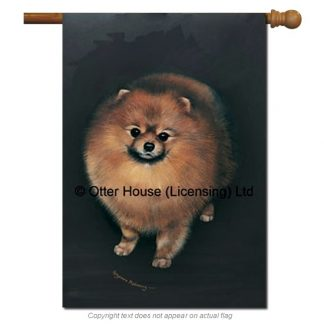 Pomeranian Flag - Pickering (Large)
