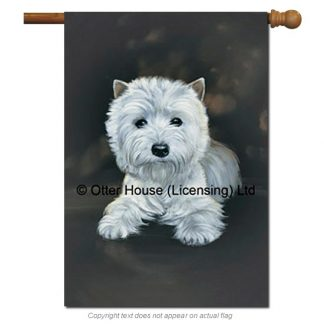 West Highland Terrier Flag - Pickering (Large)