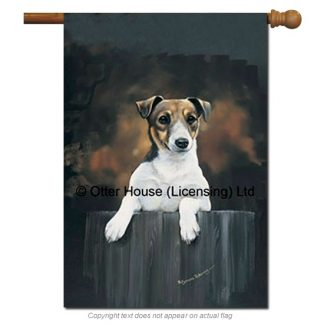 Jack Russell Terrier Flag - Pickering (Large)