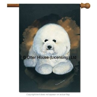 Bichon Frise Flag - Pickering (Large)