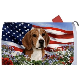 Beagle Mail Box Cover - USA