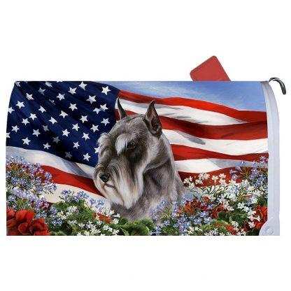 Schnauzer Mail Box Cover - USA