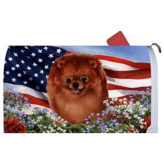 Pomeranian Mail Box Cover - USA