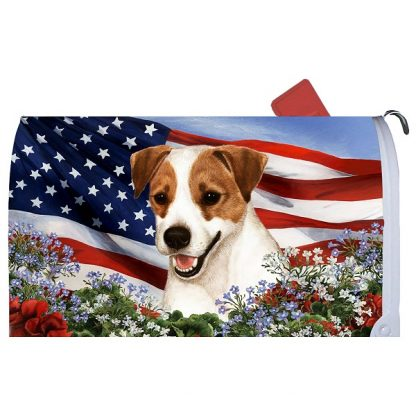 Jack Russell Terrier Mail Box Cover - USA