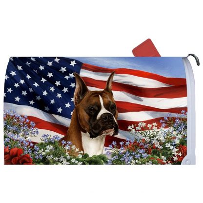 Boxer Mail Box Cover - USA