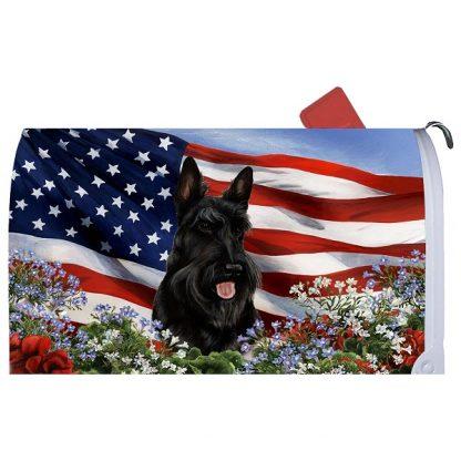 Scottish Terrier Mail Box Cover - USA