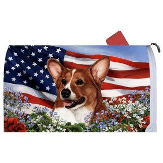 Corgi Mail Box Cover - USA