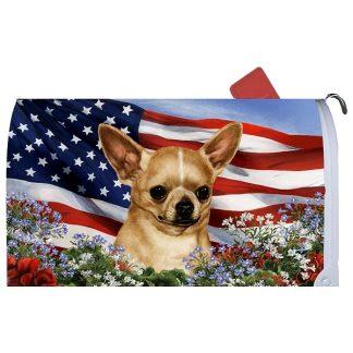Chihuahua Mail Box Cover - USA