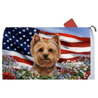 Yorkshire Terrier Mail Box Cover - USA