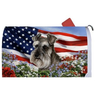 Schnauzer Mail Box Cover - USA (Uncropped)
